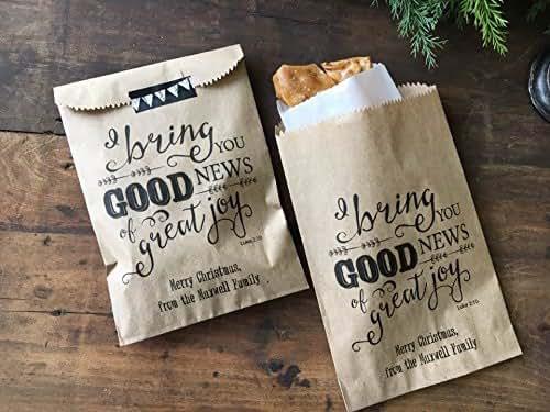 Amazon.com: Christmas Gift Bags,Christian Teacher ...