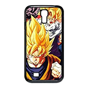 Samsung Galaxy S4 9500 Cell Phone Case Black Dragonball Z Goku Fire Anime SUX_133803