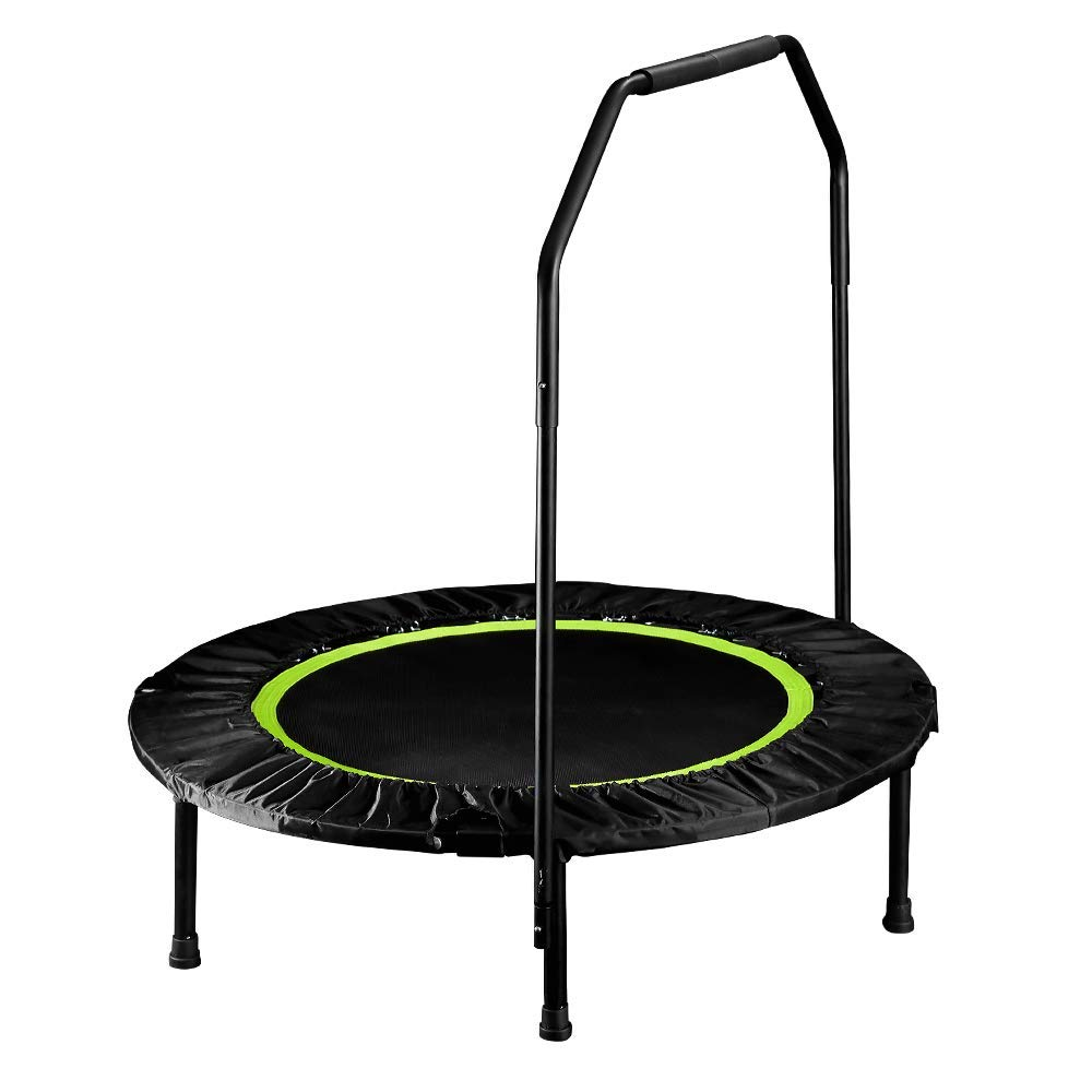 Fitness-Trampolin-athletisch Fitness Fettverbrennung Trampolin Fitnessstudio Indoor Gewichtsverlust Abnehmen Federbett Kinderheim Bounce Bed kann helfen (Lagergewicht 150kg)