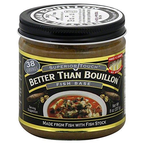 Better Than Bouillon Base Fish, 8 oz -