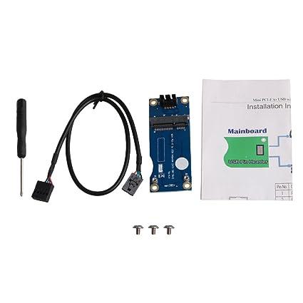 Amazon.com: Adaptador de SIM a PCI-E Plug and Play para ...