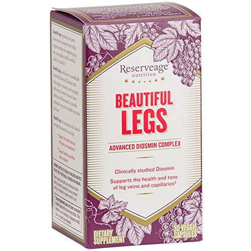 Reserveage - Beautiful Legs with Diosmin, Helps Promote Healthy Circulation & Oxygenation, 30 vegetarian capsules