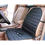 Zento Deals 12V Heated Car Seat Cushion Premium Quality Adjustable Temperature Heating Pad Pain Reliever