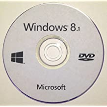 Windows 8.1 Core 64-Bit on DVD-ROM - Used to Repair, Recovery, Restore and Re-Install