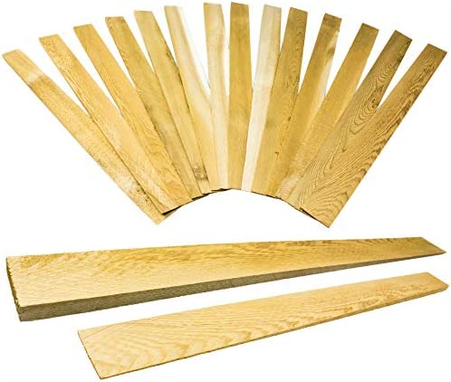 Pro Project's Extra Long 15in Tapered Cedar Wood Shims, 13 Pack. Weather Resistant Home Improvement Tool for Installing Doors, Windows or Cabinets, Leveling Floors and DIY Remodeling Projects