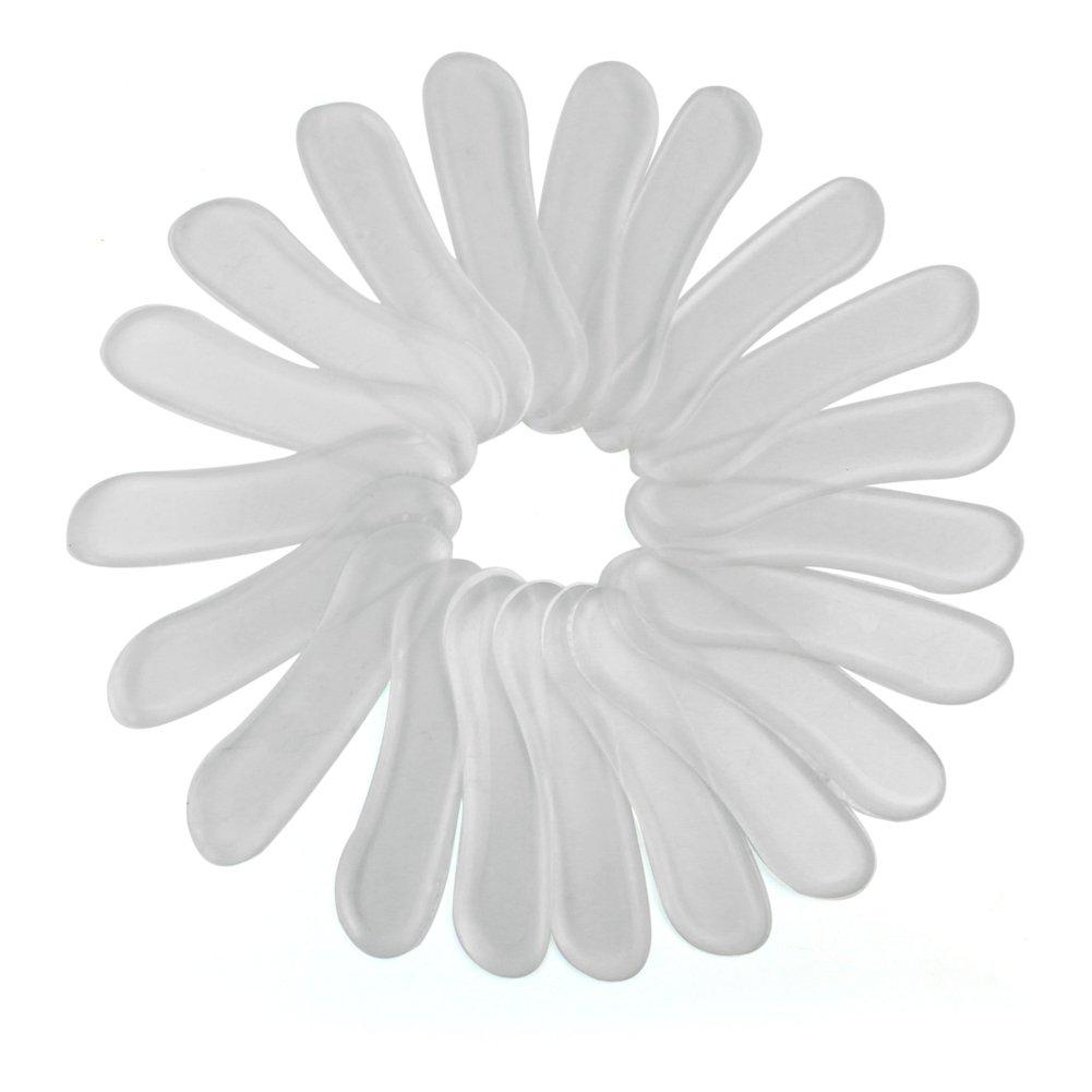 10 Set Silikon Gelpolster Gelkissen Antislip Pads Gel Fersenschutz Fersenhalter Buydealpe