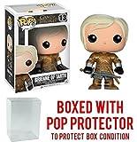Funko Pop! Game of Thrones: GOT - Brienne of Tarth #13 Vinyl Figure (Bundled with Pop BOX PROTECTOR CASE)