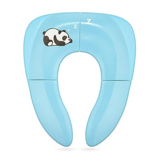 121 opinioni per Riduttore WC per Bambino Pieghevole Jerrybox, Blu, Riduttore Vasino da Viaggio