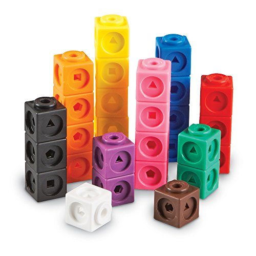 Learning-Resources-Mathlink-Cubes-Educational-Counting-Toy-Set-of-100-Cubes