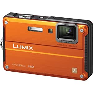 Panasonic Lumix DMC-TS2 14.1 MP Waterproof Digital Camera with 4.6x Optical Image Stabilized Zoom with 2.7-Inch LCD (Orange)