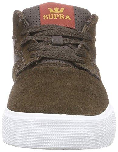 SupraAXLE - Zapatillas hombre marrón - Braun (BROWN - WHITE   BRN)