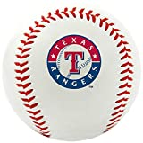 MLB Texas Rangers Team Logo Baseball, Official, White