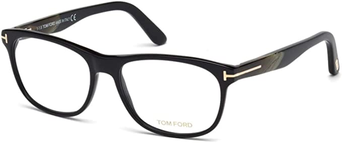 b5544d2afc906 Image Unavailable. Image not available for. Color  Eyeglasses Tom Ford FT  5431 -F 062 brown horn