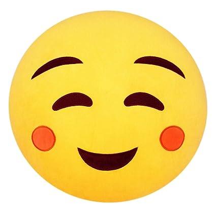 Shy emoji text