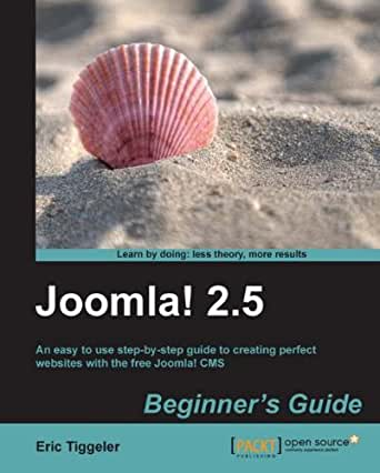 4 must-have joomla e-books for joomla newbies.
