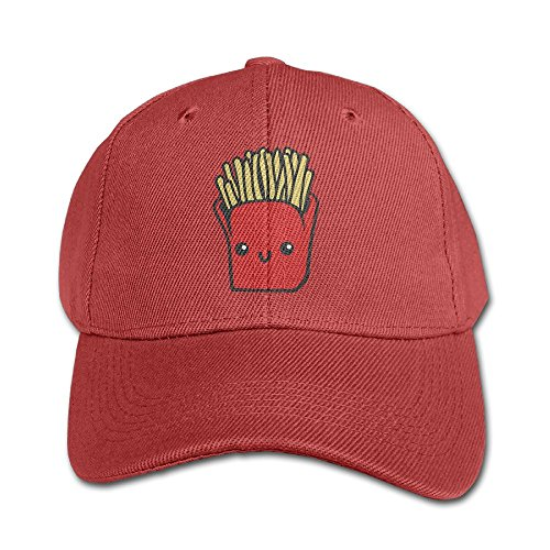 Bad Mad Hatter Costume (Elephant AN Kawaii French Fries Pure Color Baseball Cap Cotton Adjustable Kid Boys Girls Hat)