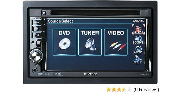 amazon com kenwood ddx514 6 1 inch wide in dash monitor with usb rh amazon com Kenwood Manuals DNX9960 Kenwood Manuals DNX9960