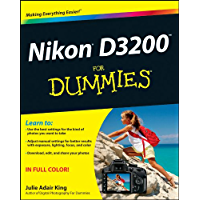Nikon D3200 For Dummies book cover