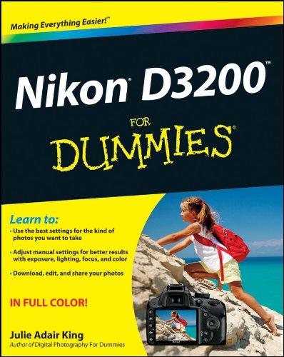 Nikon D3200 Dummies Julie Adair ebook product image
