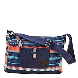 Roxy Womens Over The Sand Purse One Size Peacoat