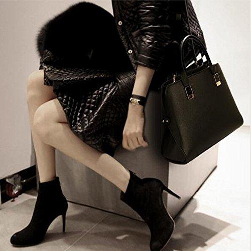 Jolies Cuir PU Petites Dames Poches Main LQQAZY à Mode Sac à Black Sac En Main Sacs 0xwz1qO