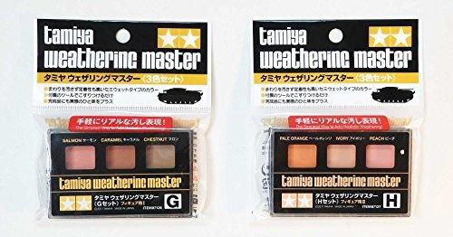 - Tamiya Weathering Master G and H For Figures Set - Japan Import