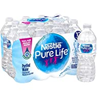 Nestle Pure Life Purified Water, 16.9 fl oz. Plastic Bottles (12 count)