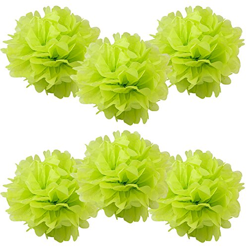 WYZworks Set of 6 - LIME GREEN 8
