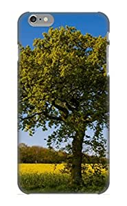 VenusLove 7603cf92544 Case Cover Skin For Iphone 6 Plus (Tree By A Field Of Rape)/ Nice Case With Appearance