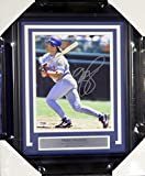 Mike Piazza Autographed Framed 8x10 Photo Los Angeles Dodgers PSA/DNA Stock #107798
