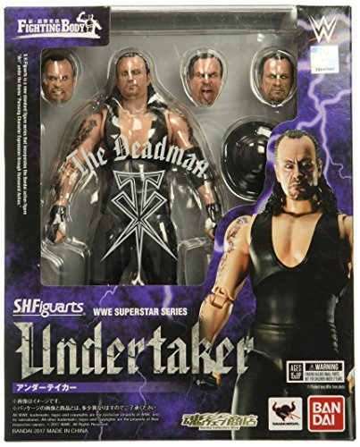 Bandai Tamashii Nations S.H.Figuarts Undertaker Wwe Action Figure by Bandai
