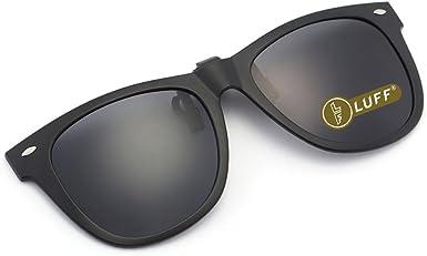 LUFF Gafas de sol polarizadas con clip Unisex-Elegantes y cómodos ...