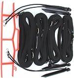Home Court 1-inch Adjustable 8-Meter Sand Setup Line - M817AS (Black)
