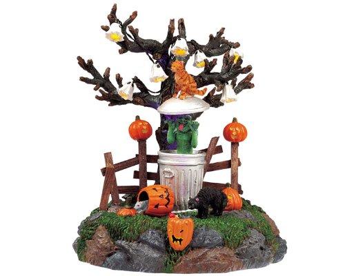 Amazon.com: LEMAX Spooky Town basura Ghoul animado y tabla ...
