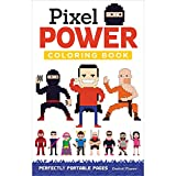 img - for Pixel Power Coloring Book: Perfectly Portable Pages (On the Go) (On-the-go Coloring Book) book / textbook / text book