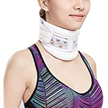 igoeshopping Rigid Neck Collar Cervical Traction Device, Adjustable Neck Stretcher Collar,Provides Neck Brace Support for Neck Pain Relief, Prevent porstural Disturbance & Chronic Bending Injury