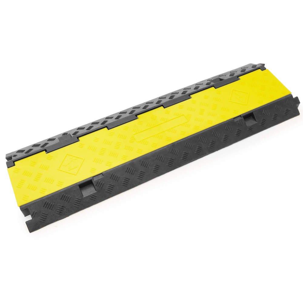 PrimeMatik - Pasacables de Suelo para protecció n de Cables elé ctricos de 3 ví as 99x30cm PrimeMatik.com