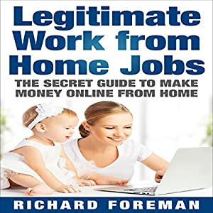 Legitimate Work from Home Jobs Audiobook