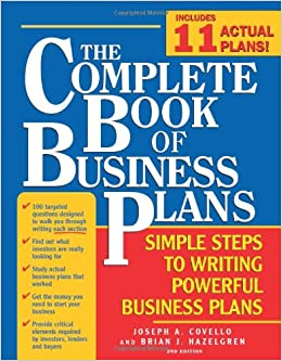 amazon com the complete book of business plans simple steps to