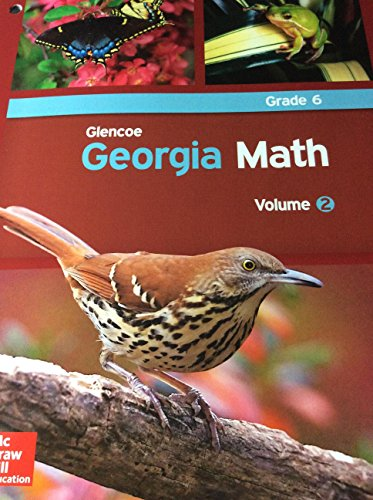 Glencoe Georgia Math Volume 2 grade 6