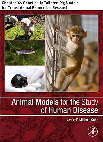 Animal Models for the Study of Human Disease: Chapter 32. Genetically Tailored Pig Models forTranslational Biomedical Research