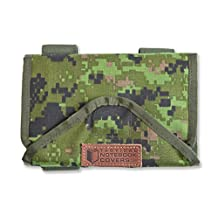 Tactical Combat Quarterback (Armband Checklist or Tactical Armband), with Removable Checklist Envelopes (for Notes/Maps) Included