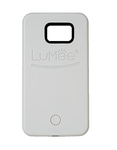 new product 69c52 88660 Lumee SGS6-W LuMee, Illuminated Cell Phone Case for Samsung Galaxy S6 -  White