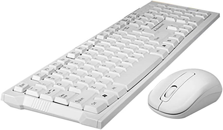 Teclados Juego Mouse inalámbricos Inicio Inteligente Ultrafino Color Negro Office Gaming Laptop Computadora de Escritorio