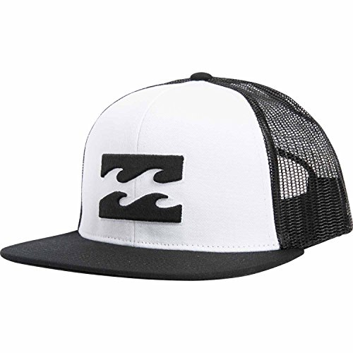 Billabong Men's All Day Trucker Hat, White, One (Billabong Trucker Hat)