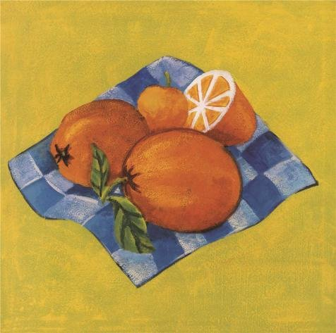 Oil Painting 'Oranges', 24 x 24 inch / 61 x 61 cm , on High Definition HD canvas prints is for Gifts And Game Room, Home Office And Kitchen Decoration, - Sunglasses Logo Orange With Fish