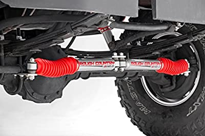 Rough Country - Shock Boots w/Clamps for Any Standard Shock