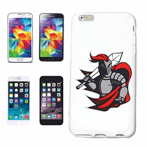 "cas de téléphone iPhone 6S ""KNIGHT ARMOUR KNIGHTSWORD KNIGHT ARMOUR Ritterburg KNIGHT CASQUE SHIELD"" Hard Case Cover Téléphone Covers Smart Cover pour Apple iPhone en blanc"