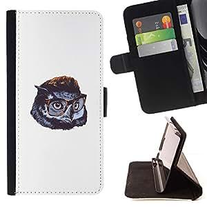 Momo Phone Case / Flip Funda de Cuero Case Cover - Cute Funny Swag del búho - LG G4c Curve H522Y (G4 MINI), NOT FOR LG G4