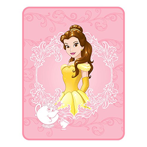 Disney Princess Beauty and the Beast Stories To Tell Throw Plush Blanket